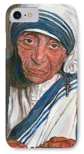 Mother Teresa Phone Case by Carole Spandau