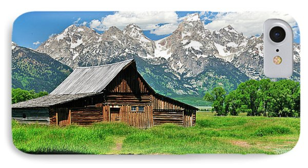 Moulton Barn IPhone Case by Greg Norrell