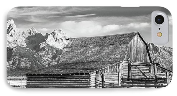 IPhone Case featuring the photograph Moulton Homestead - Barn by Colleen Coccia