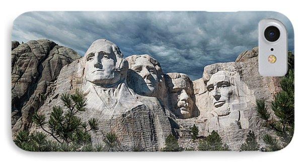 Mount Rushmore II IPhone 7 Case by Tom Mc Nemar
