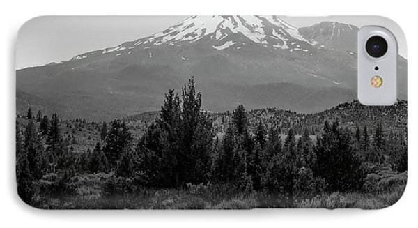 IPhone Case featuring the photograph Mount Shasta And Shastina by Frank Wilson