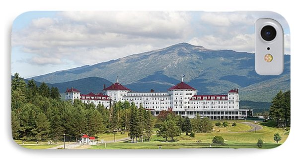Mount Washington Hotel IPhone Case by Patricia Hofmeester