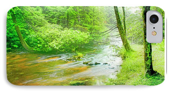 Mountain Stream, Pocono Mountains, Pennsylvania IPhone Case by A Gurmankin
