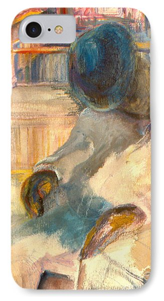 IPhone Case featuring the painting Mr Hunters Porch by Daun Soden-Greene