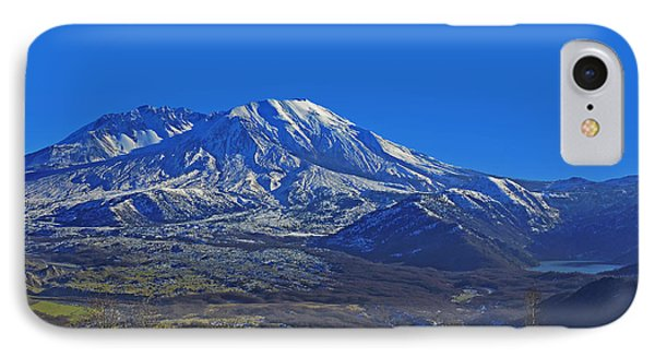 IPhone Case featuring the photograph Mt St Helens by Jack Moskovita