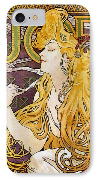 Mucha: Cigarette Papers Phone Case by Granger