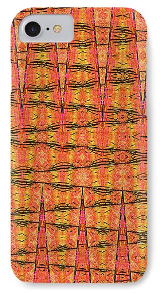 Mullen Flower Stalk Abstract IPhone Case