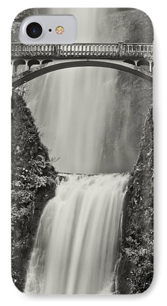 Multnomah Falls Upclose IPhone Case by Don Schwartz