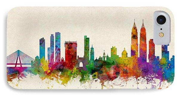 Mumbai Skyline India Bombay IPhone Case