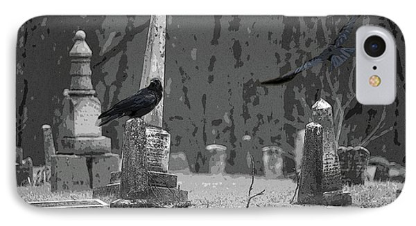 IPhone Case featuring the photograph Murder Of Crows by Rowana Ray