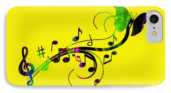 Music Flows Collection IPhone Case by Marvin Blaine