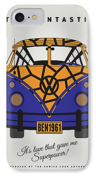 My Superhero-vw-t1-the Thing IPhone Case by Chungkong Art