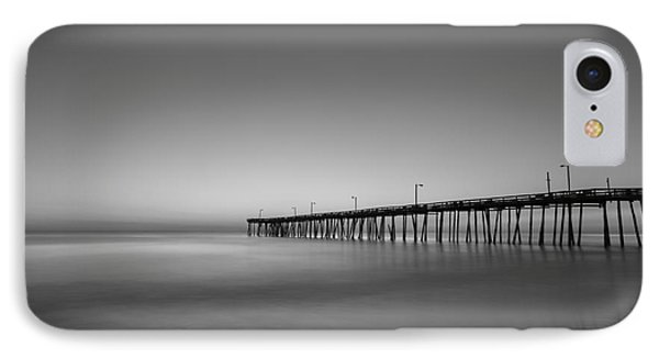 Nags Head Fishing Pier Sunrise IPhone Case