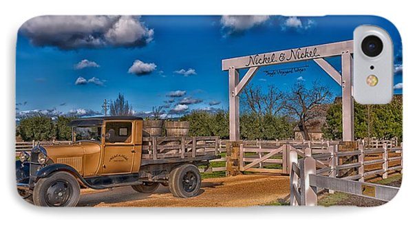 Napa Valley Winery Entrance IPhone Case by Mountain Dreams