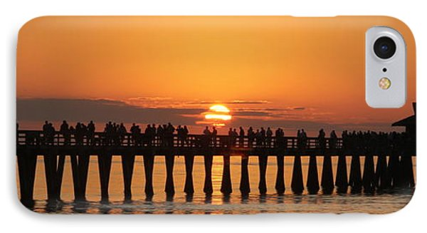 Naples Pier At Sunset IPhone Case
