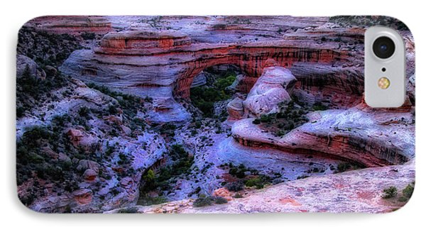 Natural Bridges National Monument IPhone Case by Utah Images