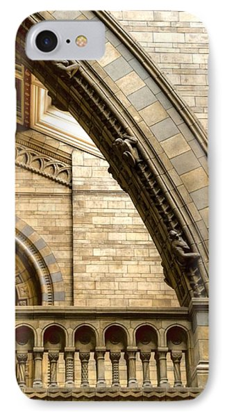 Natural History Museum Kensington  IPhone Case by David French