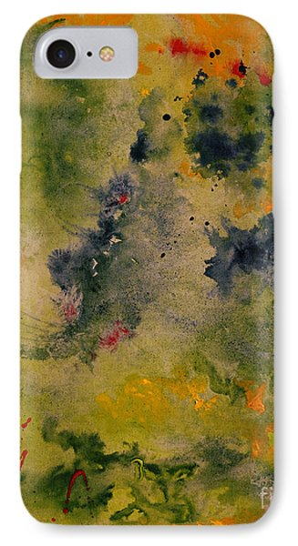 IPhone Case featuring the painting Nebula by Karen Fleschler