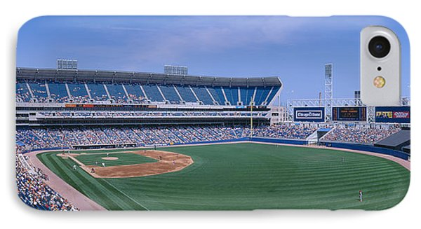 New Comiskey Park, Chicago, White Sox IPhone Case by Panoramic Images