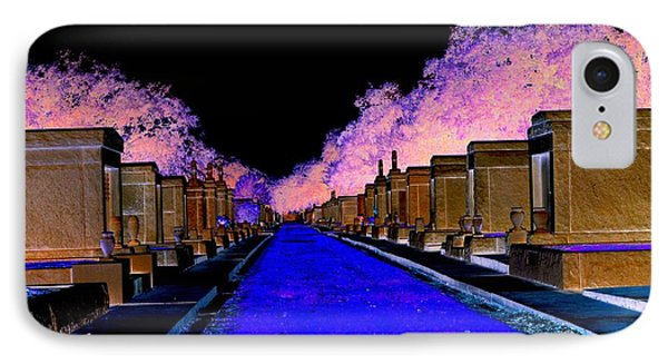 IPhone Case featuring the photograph New Orleans Cemetery by Janice Spivey