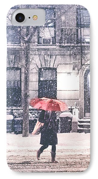 New York City Snow IPhone Case