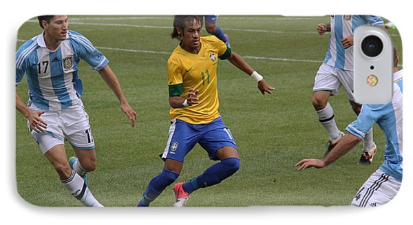 Neymar Doing His Thing II IPhone Case