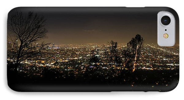 Night At Griffeth Observatory IPhone Case by Clayton Bruster
