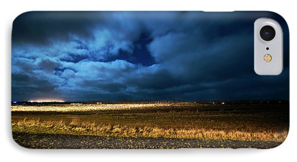 IPhone Case featuring the photograph Icelandic Night  by Dubi Roman
