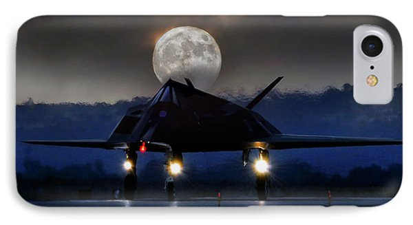 Night Stalker IPhone Case by Peter Chilelli
