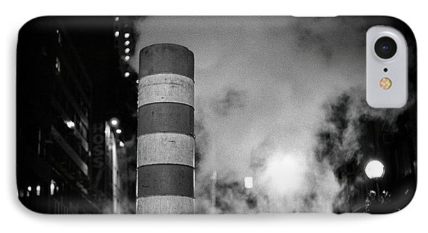 IPhone Case featuring the photograph Night Steam Nyc by Dave Beckerman