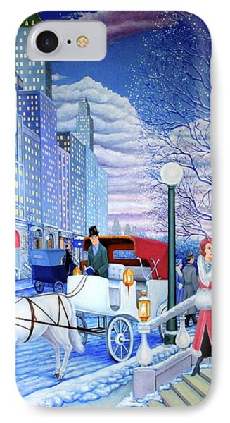 Nightfall IPhone Case by Tracy Dennison