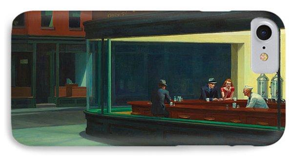 Nighthawks IPhone Case by Edward Hopper