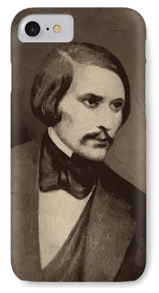 Nikolai Gogol IPhone Case by Afterdarkness