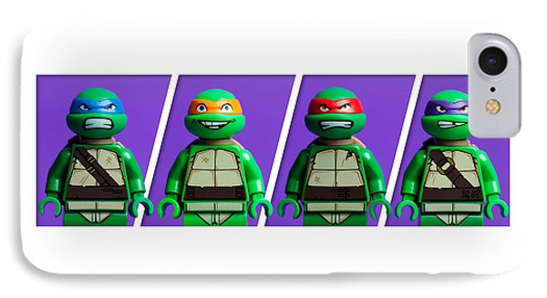 Ninja Turtles IPhone Case by Samuel Whitton