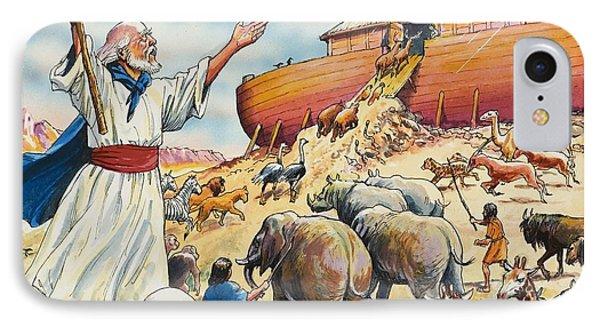 Noah's Ark IPhone Case by English School