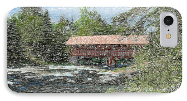 North Country Bridge IPhone Case by John Selmer Sr