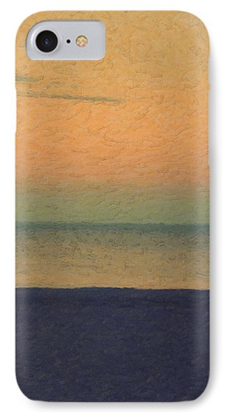 Not Quite Rothko - Breezy Twilight IPhone Case