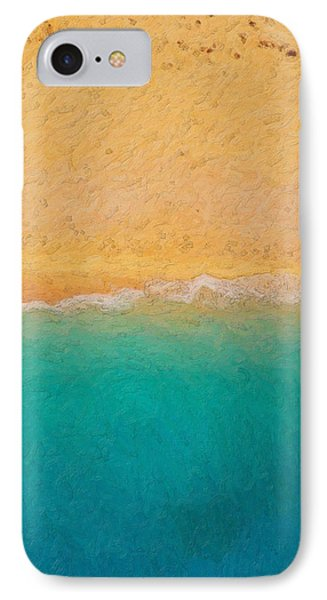 Not Quite Rothko - Surf And Sand IPhone Case