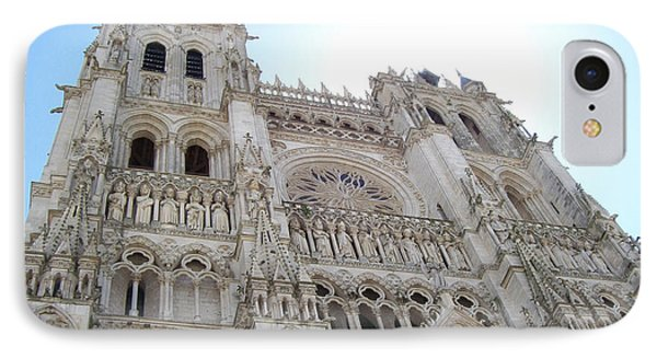 Notre-dame D'amiens IPhone Case by Mary Mikawoz