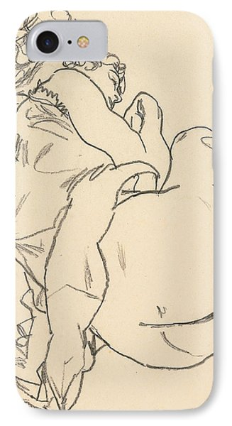 Nude Lying Down IPhone Case
