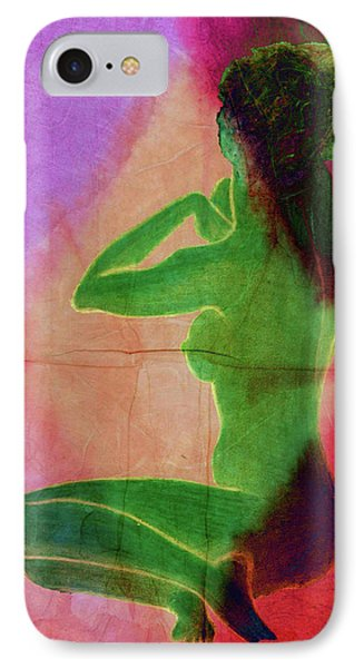 Nude Woman IPhone Case by Svelby Art
