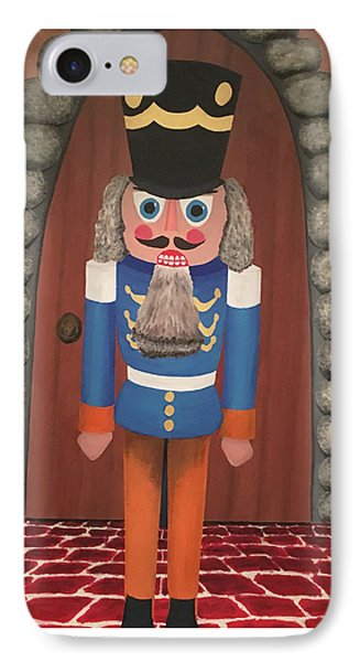 IPhone Case featuring the painting Nutcracker Sweet by Thomas Blood