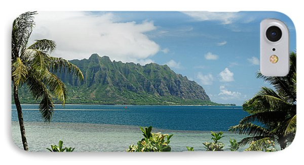Oahu, Kaneohe Bay IPhone Case by Vince Cavataio - Printscapes