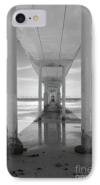 IPhone Case featuring the photograph Ocean Beach Pier by Ana V Ramirez