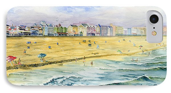 Ocean City Maryland IPhone Case by Melly Terpening