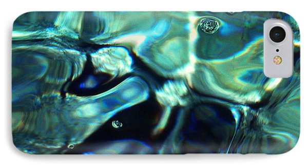 IPhone Case featuring the photograph Ocean Water by Colette V Hera  Guggenheim