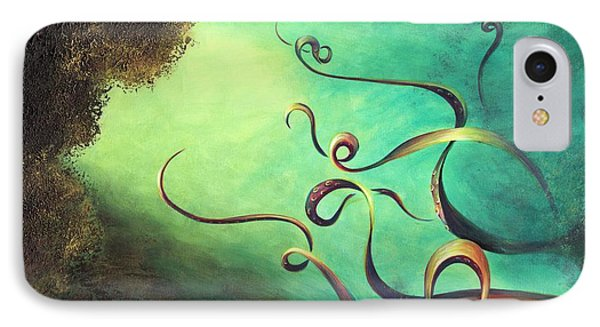 IPhone Case featuring the painting Octopia by Dina Dargo