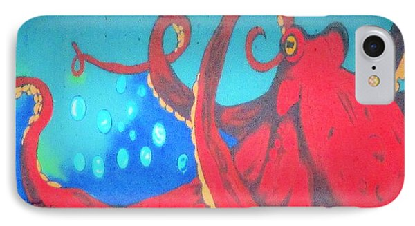 Octopus IPhone Case by Martin Cline