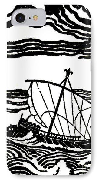Odysseus's Ship IPhone Case