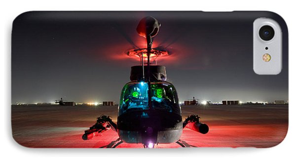 Oh-58d Kiowa Pilots Run Phone Case by Terry Moore